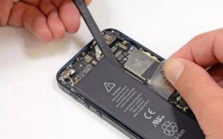 Замена аккумулятора на iPhone: полезная информация